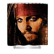 Pirate Life - Rum Sunset Shower Curtain