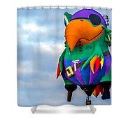 Pirate Parrot Pegleg Pete Shower Curtain