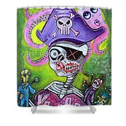 Pirate Voodoo Shower Curtain