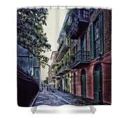 Pirate's Alley In New Orleans Shower Curtain