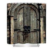 Pirates Door Shower Curtain