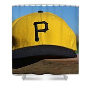 Pirates Go The Distance Shower Curtain