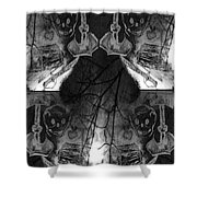 Pirate's Keepsake Shower Curtain