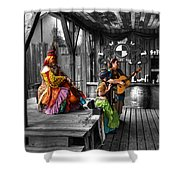 Pirates Of The Caribbean V4 Shower Curtain