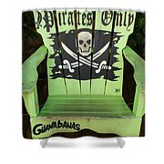 Pirates Only Shower Curtain