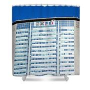 Pirelli Building Shower Curtain