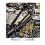 Pirn Winding Machine Shower Curtain