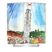 Pisa In Italy 01 Shower Curtain