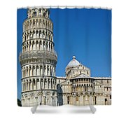 Pisa Italy Shower Curtain