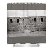 Pisac Architecture Shower Curtain