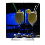 Pisco Sour In Puno Shower Curtain