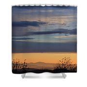 Pisgah Sunrise Shower Curtain