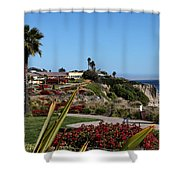 Pismo Beach Landscape Shower Curtain