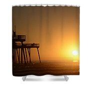 Pismo Beach Pier California 6 Shower Curtain