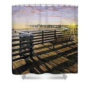 Pismo Boardwalk Shower Curtain
