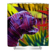 Pit Bull Shower Curtain