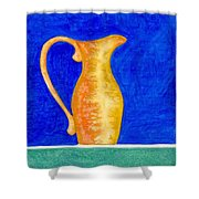 Pitcher 2 Shower Curtain