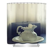 Pitcher And Basin Shower Curtain