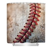 Pitchers Stitches Shower Curtain