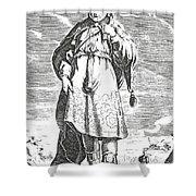 Pittacus Of Mytilene, Sage Of Greece Shower Curtain