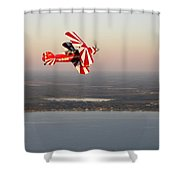 Pitts At Sunset Shower Curtain