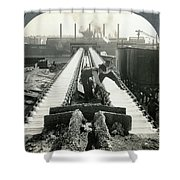 Pittsburgh Foundry Shower Curtain