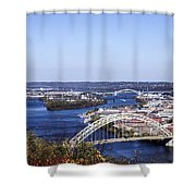 Pittsburgh North Shower Curtain