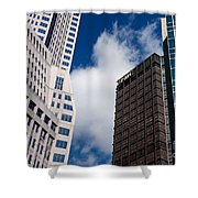 Pittsburgh Skyscrapers Shower Curtain