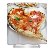 Pizza Amore Shower Curtain