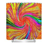 Pizzazz 43 Shower Curtain