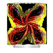 Pizzazz 48 Shower Curtain