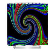 Pizzazz 49 Shower Curtain