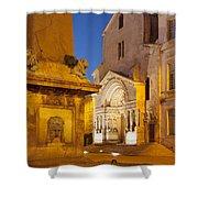 Place De La Republique Shower Curtain