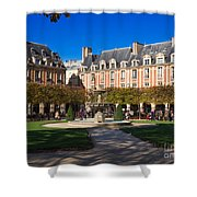 Place Des Vosges Paris Shower Curtain