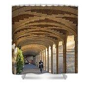 Place Des Vosges Walkway Shower Curtain