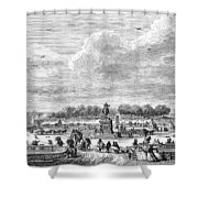 Place Louis Xv, 1763 Shower Curtain
