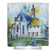 Place Of Silence Shower Curtain