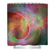 Placeres-03 Shower Curtain