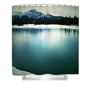 Placid Hills  Shower Curtain