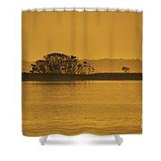 Placid Morning Shower Curtain