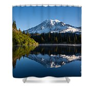 Placid Reflection Shower Curtain