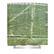 Plains Of Nazca - Spider Shower Curtain