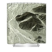 Plains Of Nazca - The Astronaut Shower Curtain