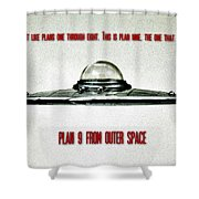Plan 9 Seinfeld Shower Curtain