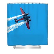 Plan In Action Shower Curtain