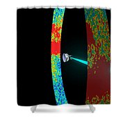 Planck Space Observatory Scanning Shower Curtain