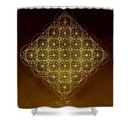 Planck Space Time  Shower Curtain