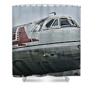 Plane Capital Airlines Shower Curtain