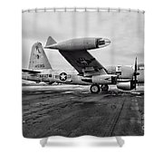 Plane - P2v-7 Neptune Aircraft Shower Curtain