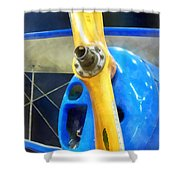 Planes - Great Lakes Sport Trainer Shower Curtain